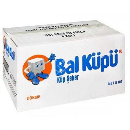 Balküpü Dökme Küp Şeker 5 Kg