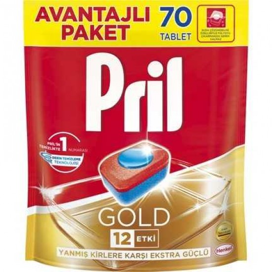 Pril Tablet Gold 60 Lı
